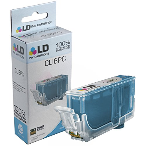 LD Compatible Ink Cartridge Replacement for Canon CLI8PC 0624B002 (Photo Cyan)