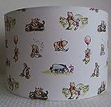 Winnie The Pooh- Handmade Nursery Lampshade 30cm Drum