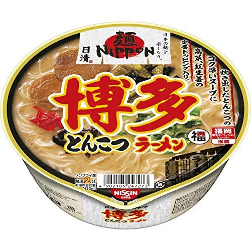 日清 麺NIPPON 博多とんこつラーメン 101g ×12個