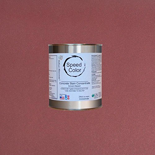 Paint for Outdoor Concrete Projects - Red Brick (Red)- 24oz Concentrate