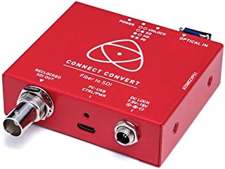 Atomos Connect Convert Fiber, Fiber to SDI Converter