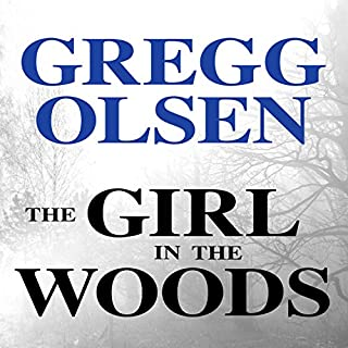 The Girl in the Woods audiobook cover art