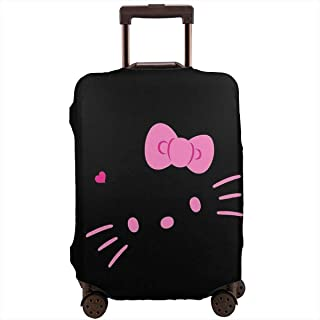 718e07ba4 Travel Luggage Cover Hello Kitty Face Luggage Protector Suitcase Cover Fits  18-32 Inch Luggage