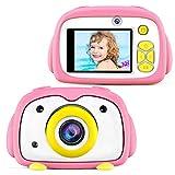 BlueFire Kids Camera 12MP HD Digital Camera for Kids Mini 2 Inch LCD