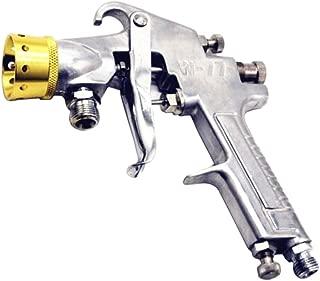 Backbayia - Pulverizador de pintura neumática, pistola de soplado cemento, plateado