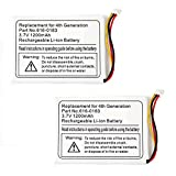 2 Pack Fenzer Replacement 1200mAh Battery for Apple iPod Photo 4th 4 Gen Generation