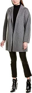Vince Belted Wool-Blend Cardigan Coat