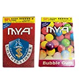 VIRTUAL WORLD Herbal Hookah Flavour Combo Pack of Two Commissioner, Bubble Gum