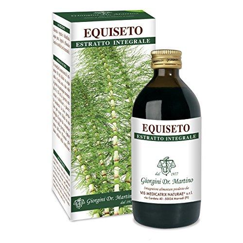 Dr. Giorgini Integratore Alimentare, Equiseto Estratto Integrale Liquido Analcoolico - 200 ml
