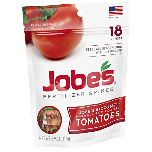Jobe's Tomato Fertilizer Spikes, 18 Spikes