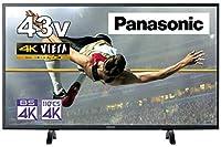 パナソニック 43V型 4Kチューナー内蔵 液晶 テレビ VIERA TH-43GX500 IPSパネル