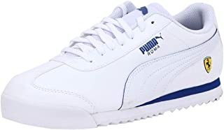 Puma Unisex Kid's Sf Roma Jr White-Galaxy Sneakers