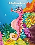 Caballitos de mar libro para colorear 1