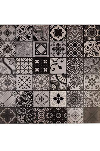 Marokkanische Fliesen Wandfliesen bunt 1 Stk Muster 9 | Orientalische Fliese als Wanddekoration im Bad oder Küchenrückwand | Bunte Mosaikfliesen Design als Deko für die Wand im Badezimmer Küche