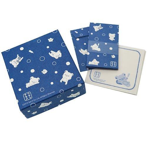 リラックマ[レターセット]和紙箱入り箋 小/水玉 サンエックス