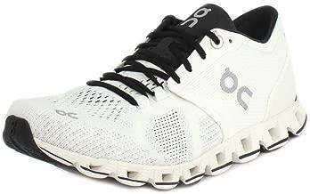 On Running Womens Cloud X White/Black Running Shoe - 9