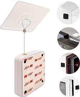 Automatische Deurdranger,Punch-Free Automatische Sensor Deurdranger,Mini-deurDranger Voor licht Gebruik,Zelfsluitende Deur...