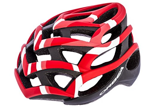 Casque ORBEA mod.Odin col.Rouge/Blanc Taille M