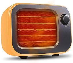 FXQIN Mini Calefactor Cerámico, Termoventiladores Eléctrico para Mesa y Escritorio, Protección contra Sobrecalentamiento, Bajo Consumo, Calefactor Cerámico Aire Caliente,UK