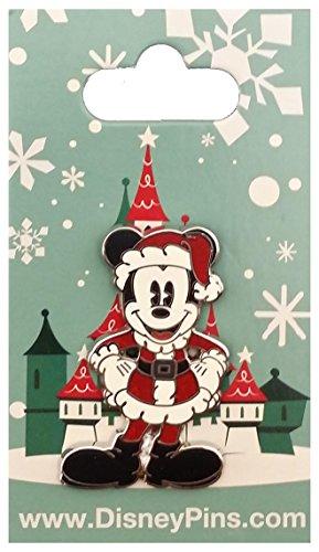 WDW Pin - Pie Eyed Mickey - Santa Suit