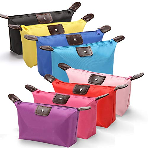 Cosmetic Bags Toiletry Bags for Women 8 Pack Toiletries Organizer Bag Multifunction Travel Makeup Pouch