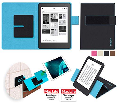Hülle für Kobo Aura HD Tasche Cover Hülle Bumper | in Schwarz | Testsieger