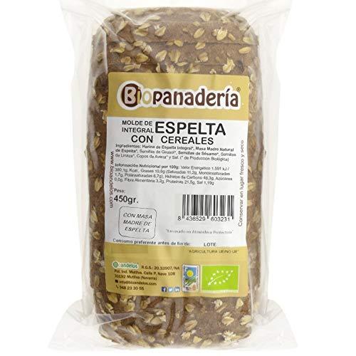 Biopanadería Pan de Molde Integral con Cereales Ecológico Elaborado con Masa Madre Natural (Espelta Integral)