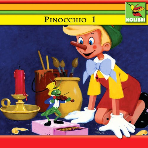 Pinocchio 1 cover art