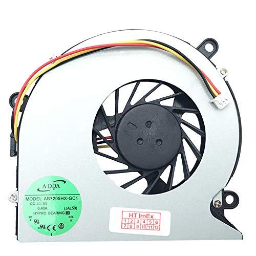 Lüfter Kühler Fan Cooler kompatibel für Acer Aspire 5520G-602G25Mi, 7520G-504G32Mi, 5520G-603G25Bi, 7520G-7A3G32Mi, 5710-102G12Mi, 7520G-302G16Mi, 5715Z-2A2G16Mi, 7720G-602G25Mn