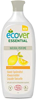 Ecover Liquid for Washing-Up Lemon Fragrance   Eco-Responsible and Gentle Natural Origin for Your Skin   Certified Organic...