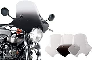 Memphis Shades Demon Windshield with Handlebar Mounting Kit (Gradient Black)