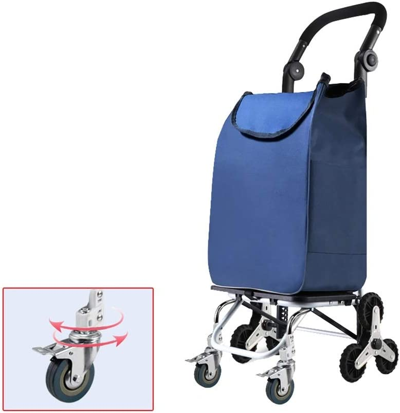 HOMEH Shopping Trolley Compact Push Truck Fo Hand Portable Max 45% OFF Pull half