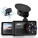 IIWEY 1440P&1080P Dual Dash Camera for Cars with 6 IR Lights Night Vision 2K Car Camera Dash Cam Front and Rear with 3.2' IPS Screen 170¡ã Wide Angle Dashboard Security Camera Parking Mode