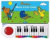 Trötsch Die Maus Klavierbuch Meine ersten Lieder: Beschäftigungsbuch Soundbuch Liederbuch