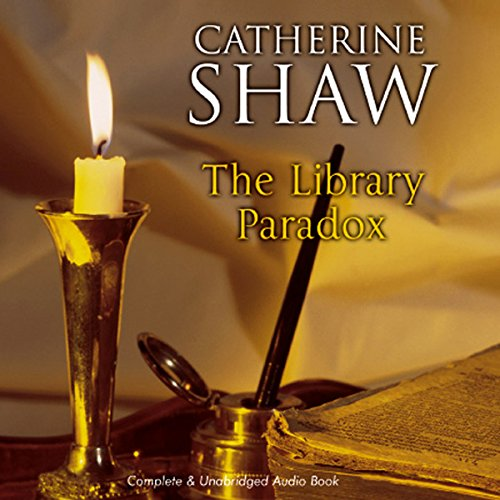 The Library Paradox audiobook cover art