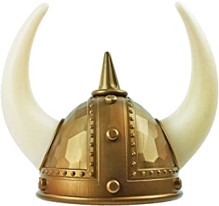 knitted viking helmet and beard