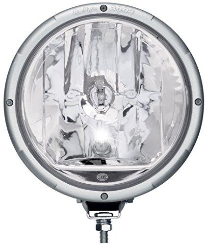 HELLA 1F8 009 797-321 Fernscheinwerfer - Rallye 3003 - FF/Halogen - H1/W5W - 12V/24V - rund - Ref. 50 - glasklare Streuscheibe - transparent - Anbau - Einbauort: links/rechts