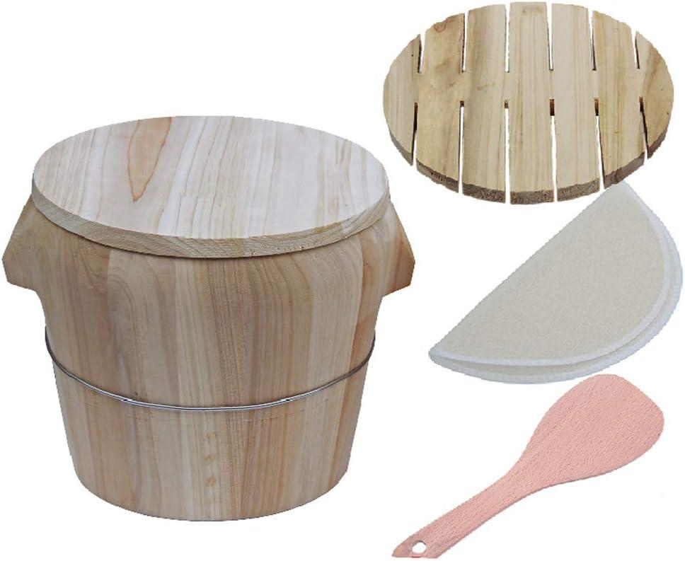 Indefinitely Wooden Rare steamed rice barrel commerc pot Glutinous Restaurant