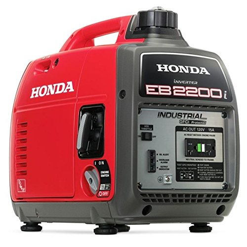Honda EB2200I Super Quiet 2200-Watt Portable Industrial Inverter Generator Generators