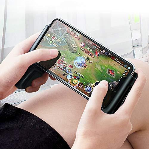 Lihgfw Mobile Controller Gamepad L1 R1 Viser et Tirer contrôleur Trigger Jeu Mobile télescopique Manette de Jeu for téléphone Android et iPhone, avec Flexible Joystick (Noir)