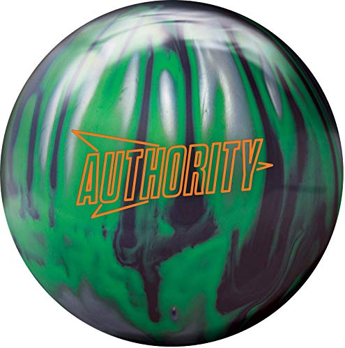 Columbia 300 Authority Bowling Ball- Black/Lime/Silver 13lbs