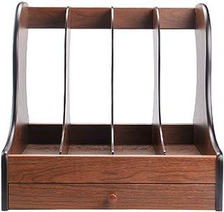 YXB - Estantería de madera para mesa (cajón y archivador)