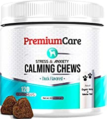 ✅ RELIEVES 99% OF DOG RELATED ANXIETIES - Our natural calming treats have been shown to alleviate symptoms of stress and anxiety. Whether your dog suffers from separation anxiety, weather-related woes, exhibits other types of nervous behavior, or is ...