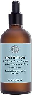 Hairprint - Organic Nutritive Hair Oil - Marula + Abyssinian | Clean, Non-Toxic Haircare (3.4 fl oz | 100 ml)