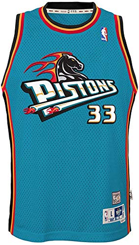 Grant Hill Detroit Pistons Teal Youth 8-20 Soul Hardwood Classic Swingman Jersey (14-16)