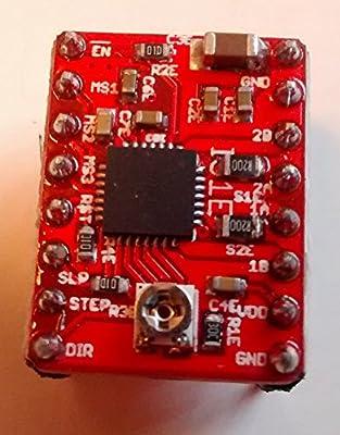 3D Printer Stepper Motor Driver - A4988 - Pololu, Reprap, Red StepStick compatible