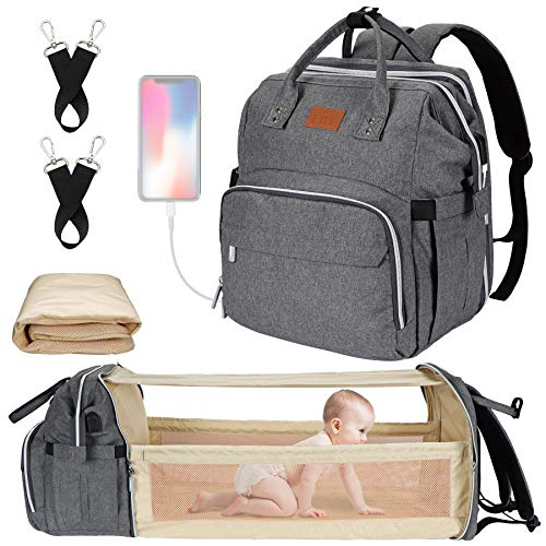 Diaper Bag with Changing Station, Baby Diaper Bag,...