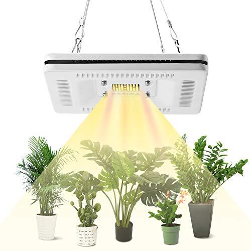 FECiDA 50 W LED Grow Light per piante da interno 250 W CFL HPS Grow Lights Equivalente, Impermeabile LED Grow Plant Light, Professionale Sunlike Full Spectrum Grow Lamp
