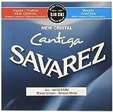 Savarez Cuerdas para Guitarra Clásica New Cristal Cantiga juego 510CRJ Tesión mezclada