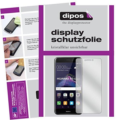 dipos I 6X Pellicola Protettiva Compatibile con Huawei P8 Lite 2017 Pellicola di Protezione Cristallo